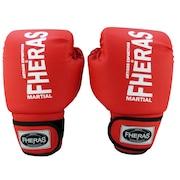 Kit de Boxe e Muay Thai Fheras -Luvas + Caneleira + Bandagem - 3,5m + Protetor Bucal + Bolsa