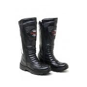 Bota Motociclista Atron Shoes Cano Alto com Porta Facas 276AS - Masculina