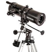 Telescópio Newtoniano Greika TELE-1000114 Equatorial com Tripé e Acessórios - 1000X114mm