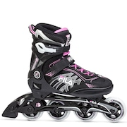 Patins Fila Mizar Lady - In Line - Fitness - ABEC 5 - Base de Alumínio - Adulto