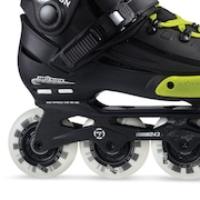 Patins Fila NRK Fun - In Line - Freestyle/Slalom - ABEC 7 - Ajustável - Adulto