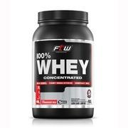 Whey Protein Concentrado Fitoway 100% FTW - Morango - 900g