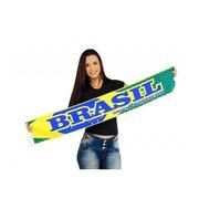 Cachecol Brasil...