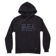 Blusão de Moletom com Capuz RVCA Canguru Fleece Cut - Masculino