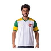 Camiseta do Flamengo Retro Zico Brasil - Masculina