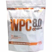 Whey Protein Concentrado Steel Nutrition WPC 8.0 Extreme Refil - Baunilha - 900g