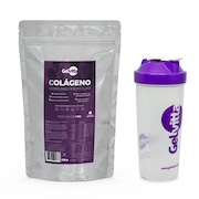Colágeno Hidrolisado Gelvitta Puro em Pó - 1Kg + Coqueteleira 600ml