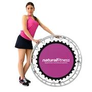 Cama Elástica Natural Fitness Mini Jump Profissional + DVD de Aula