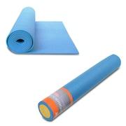 Rolo de Yoga e Pilates Live Up LS3764A - 90x15cm + Colchonete de Yoga Live Up LS3231B