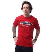 Camiseta Asphalt All Black Retrô - Masculina