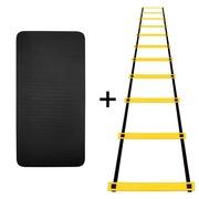 Escada de Agilidade Natural Fitness + Tapete de Yoga EVA - 10mm