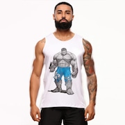 Camiseta Regata Machão Hard Clothing Fit Hulk - Masculina