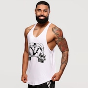 Camiseta Regata Super Cavada Hard Clothing Fit Hardcore - Masculina