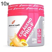 Kit 10X Colágeno Hidrolisado Body Action Clinical Skin - Maracujá - 300g