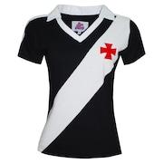 Camiseta do Vasco Liga Retrô 1989 - Feminina b322b46b3bebe
