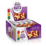 Barra de Cereal Agtal Mixed Nuts - Cranberry - 12 Unidades