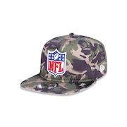 2082249817 Boné Golfer Aba Reta New Era NFL Militar - 42144 - Snapback - Adulto