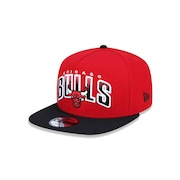 Boné Aba Reta New Era 950 Chicago Bulls NBA A-Frame - 41909 - Snapback - Adulto