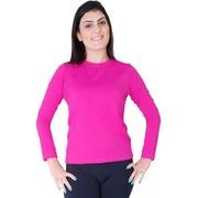 c81d05a1bac73 Camiseta Manga Longa Roupas Térmicas com Proteção Solar UV 50+ - Feminina