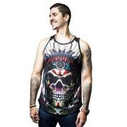 Camiseta Regata Cash Dirty Crew Caveira Índio - Masculina c5ca5f469f5