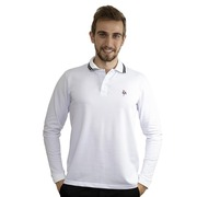 Camisa Polo Manga Longa do Atlético-MG Foco Basic - Masculina