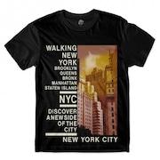 e9c18168cb Camiseta BSC Nova Iorque Bairros Sublimada Preto
