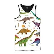 Camiseta Regata Insane 10 Dinossauros - Masculina d1fc0d01a55