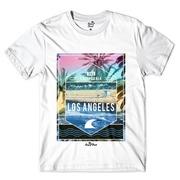 3bba1aeb21bfb Camiseta Long Beach Los Angeles 1982 - Masculina