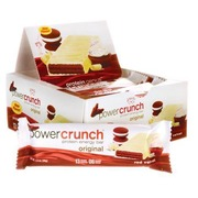 Barra de Proteína BNRG Power Crunch - Red Velvet - 12 Unidades