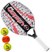 a51ac37e4 Raquete de Beach Tennis Vision Logo - 50 - 2018 +Bolas