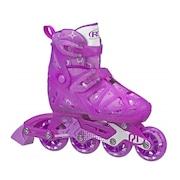 Patins Inline Roller Derby Tracer Girl Ajustável- Infantil