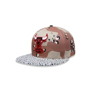 Boné Aba Reta New Era 5950 NBA Chicago Bulls 27557 - Fechado - Adulto