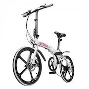 Bicicleta Two Dogs Pliage Alloy Dobrável I - Aro 20 -  Freio a Disco - Câmbio Shimano - 7 Marchas