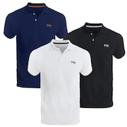 d7ad0dc245 Camisa Polo Polo Match Piquet Slim Fit - Masculina - 3 Unidades