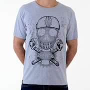 Camiseta Bikezetas Skull Just Ride - Masculina