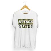 Camiseta Attack Life Script Camo - Masculina a17f41b91358d