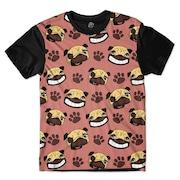1dc365fe29895 Camiseta BSC Pug Paw - Masculina