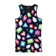 a0a596f6446cf Camiseta Regata BSC Preto Diamonds - Masculina