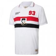 b78221760e485 Camiseta do São Paulo Retrô Gol Réplica Muller 1993 - Masculina