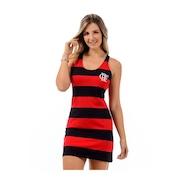 Vestido Flamengo Pipe - Adulto