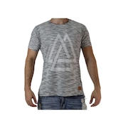 Camiseta Fit Training Brasil Casual - Triangles - Masculina