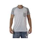 Camiseta Casual Fit Training Brasil - Raglan Double - Mascuilina