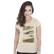 8ee347efe Camiseta Team Six Militar Baby Look Adventure - Feminina