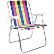 c900917d458fd Cadeira de Praia Mor Dobrável 2002 - 4 Posições