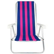 9e877999c2806 Cadeira de Praia Mor Dobrável 2103 - 4 Posições