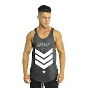 c081110b40 Camiseta Regata Cavada Diet Fitness Army - Masculina
