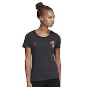 69b6e562e2c Camisa do Flamengo 2019 adidas Gráfica - Feminina
