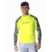 f579fa9ad9 Camisa Manga Longa Soly Brasil Raglan Lines Uv - Masculino