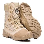 7784eceeb Bota Comando Acero em Couro Cano Médio Coturno Militar Macio Masculina -  Adulto
