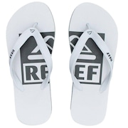 00a3a23a65 Chinelo Reef Switchfoot Logo Camélia Ultra Resistente - Adulto